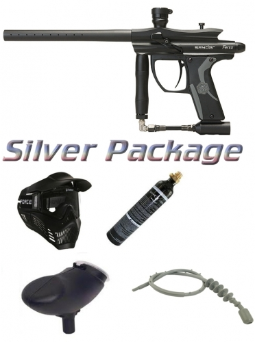 Kingman Spyder Fenix paintball MARKER Package