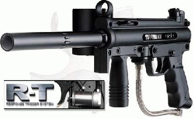 Tippmann A 5 Paintball Marker With Response Trigger Black